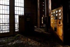Alte Triebwerkanlage stockfotografie