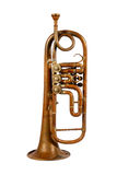 Alte Trompete lizenzfreie stockbilder