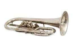 Alte Trompete lizenzfreie stockfotografie
