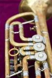 Alte Trompete falls Stockfotografie