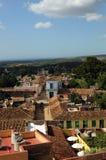 Alte tropische Stadt Stockfoto