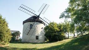 Alte tschechische Windmühle Stockbilder
