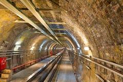 Alte Tunnel-Zeile Stockbilder