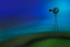 Alte Turbine Stockbild