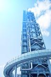 Alte Turmraffinerie Stockbilder