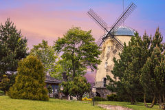 Alte Turmwindmühle Stockfotografie