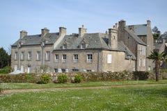 Alte typische Häuser in West-Normandie Lizenzfreies Stockbild