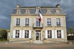 Alte typische Häuser in West-Normandie Lizenzfreie Stockfotografie