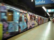 Alte U-Bahn Buenos Aires Stockfoto