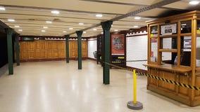Alte U-Bahnstation Budapests Lizenzfreies Stockfoto