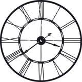 Alte Uhr über Weiß Lizenzfreies Stockbild
