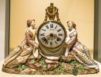 Alte Uhr an der Ausstellung in München-Wohnsitz Lizenzfreie Stockfotos