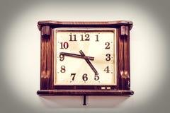 Alte Uhr der Weinlese Lizenzfreies Stockbild