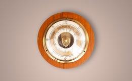 Alte Uhr der Weinlese mit dem Zeigen von preicse Zeit Stockbild