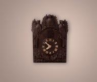 Alte Uhr der Weinlese mit dem Zeigen von preicse Zeit Stockfotos