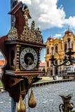 Alte Uhr und Geschichte 1 Lizenzfreie Stockbilder