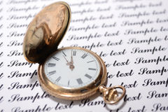 Alte Uhren Lizenzfreie Stockfotos