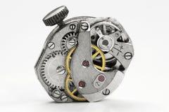 Alte Uhrvorrichtung Stockbild