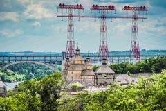 Alte ukrainische Festung Stockfotos