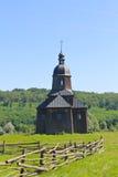 Alte ukrainische hölzerne Kirche Stockfoto