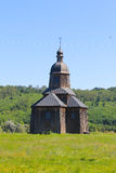 Alte ukrainische hölzerne Kirche Lizenzfreie Stockbilder