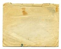 Alte Umschlag-Brown-Creme lizenzfreie stockfotos