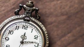 Alte und antike Taschenuhr Lizenzfreie Stockfotos