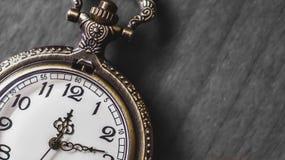 Alte und antike Taschenuhr Stockfoto