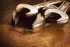 Alte und benutzte Schlüssel Lizenzfreie Stockfotos