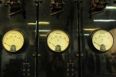Alte und der Weinlese elektrische Transformatoren Stockfotografie