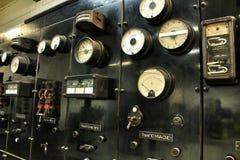 Alte und der Weinlese elektrische Transformatoren Lizenzfreie Stockbilder