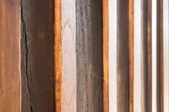 Alte und des Schmutzes hölzerne Wand Stockfotos
