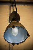 Alte und dirthy Lampe Stockbilder