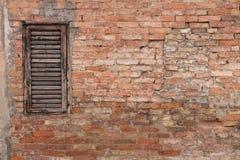 Alte und grungy Backsteinmauer Lizenzfreie Stockfotos