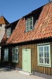 Alte und malerische Stadt von visby Lizenzfreie Stockbilder