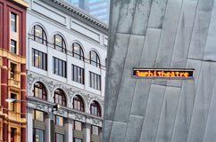 Alte und moderne Gebäude - Melbourne Lizenzfreie Stockfotos
