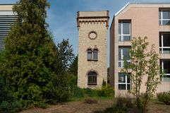 Alte und neue Architektur Lizenzfreies Stockbild