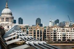 Alte und neue Architektur Stockbild