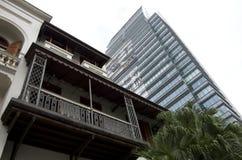 Alte und neue Architektur Hong Kong Lizenzfreie Stockbilder