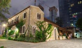 Alte und neue Architektur in Tel Aviv Stockfotografie