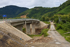 alte und neue Brücke Stockfotografie