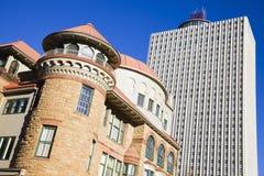 Alte und neue Gebäude in Memphis Stockfoto