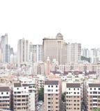 Alte und neue Gebäude Stockfoto
