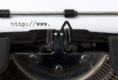 Alte und neue Kommunikationstechnologie Lizenzfreie Stockbilder