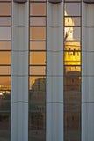 Alte und neue Reflexion Lizenzfreies Stockfoto