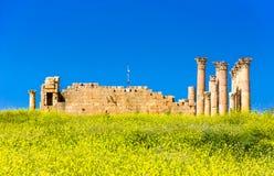 Alte und r?mische Ruinen von Jerash Gerasa, Jordanien stockfoto