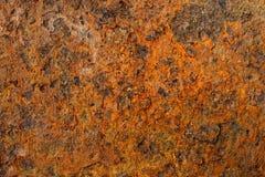 Alte und rostige Metalloberfläche Lizenzfreies Stockbild