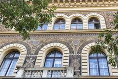 Alte und schöne Architektur in Budapest, Ungarn Lizenzfreie Stockfotos