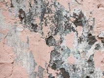 Alte und schöne Betonmauer Lizenzfreie Stockfotos