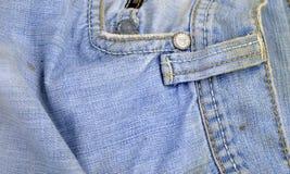Alte und schmutzige Blue Jeans Lizenzfreie Stockfotografie